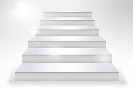 Stairs background silhouette step white
