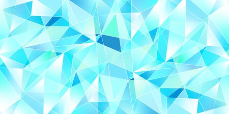 Geometric pattern water ice background
