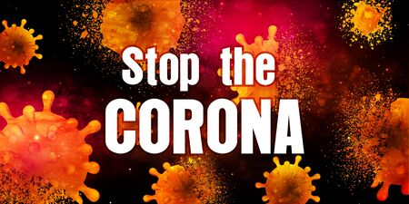 Corona virus repellent bacteria background 일러스트