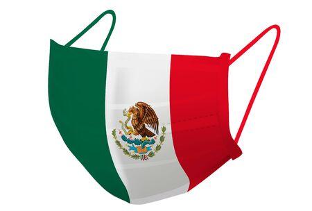 Mexico Mask national flag icon