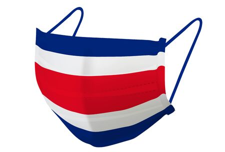 Costa Rica Mask national flag icon