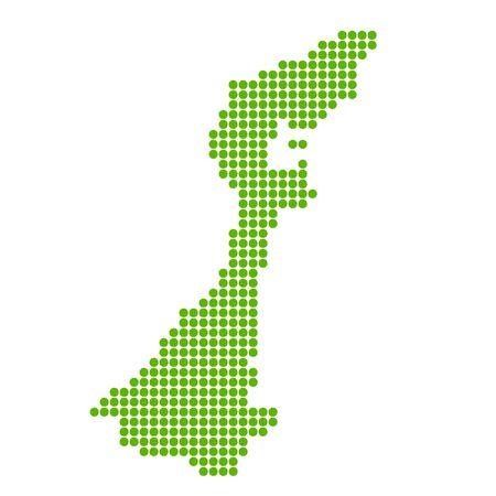 Ishikawa Map circle polka dot icon