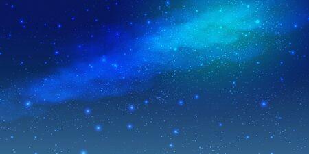 Tanabata shooting star night sky background