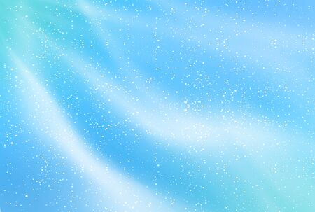 Tanabata Milky Way watercolor background