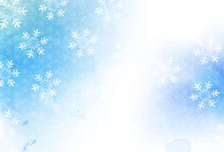 Christmas snow winter sky background Ilustrace