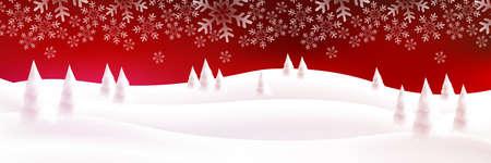 Christmas snow winter light background