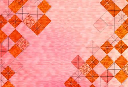 Autumn Japanese paper Japanese pattern background