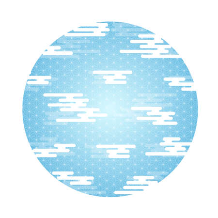 haze Pattern New Year's card icon