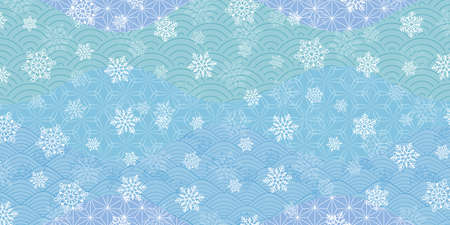 Christmas snow winter watercolor background
