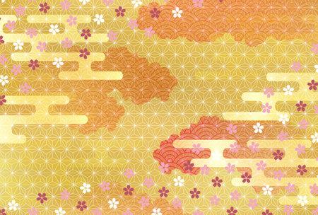 Cherry tree flower spring background
