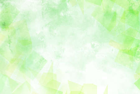 Watercolor fresh green Japanese paper background