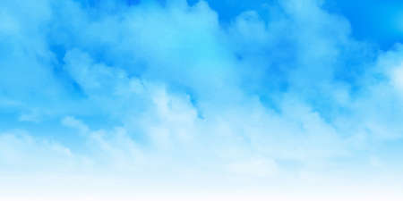 Sky clouds blue landscape background