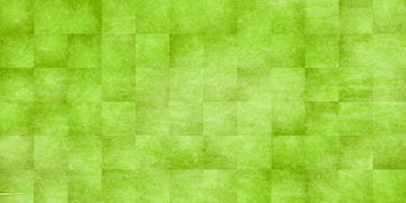 Fresh green check Japanese pattern background