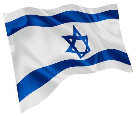 Israel national flag world icon