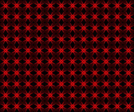 patternbackground: red  flower line abstract pattern-background Illustration