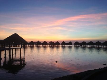 palawan: Huma Island, situado en la parte norte de Palawan Filipinas