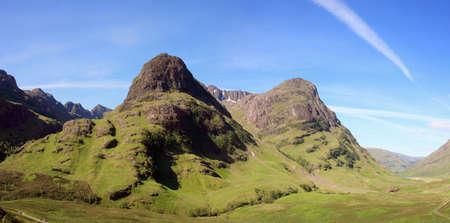 glencoe: Glencoe in the Scottish Highlands. Stock Photo