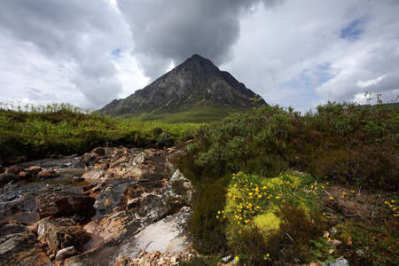 glencoe: Buachaille Etive Mor in Glencoe.