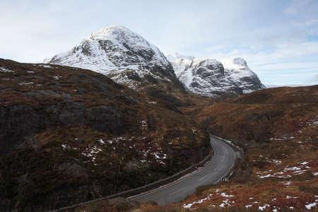 glencoe: Three Sisters in Glencoe,Scottish Highlands.