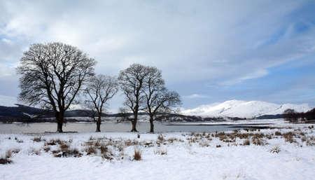 loch: Loch Eil in winter.