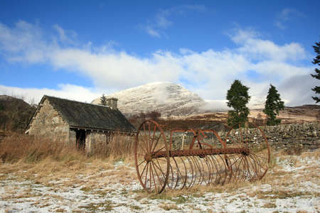 croft: Abandoned croft in the Highlands of Scotland,