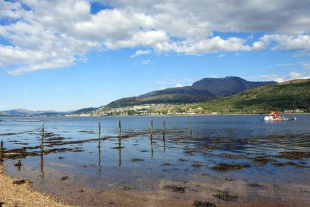 william: Ben Nevis,Fort William and Loch Linnhe.