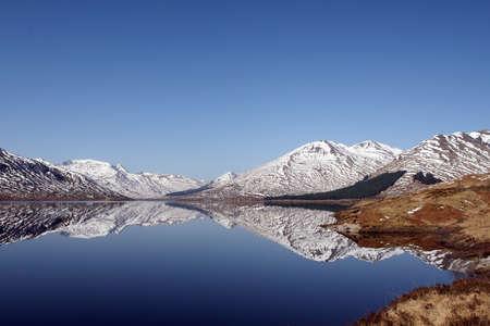 loch: Loch Clunie in the Scottish Highlands.
