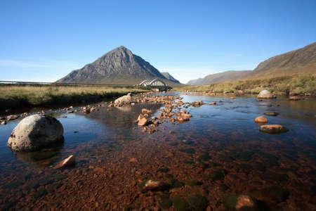 scotland landscape: Buachaille Etive Mor in Glencoe.