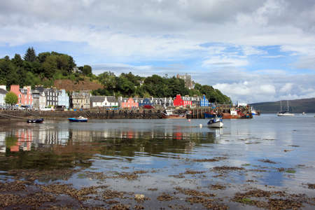 isle: Tobermory on the Isle of Mull Stock Photo
