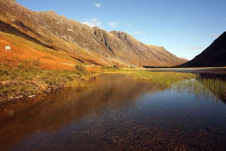 glencoe: Loch Achtriochtan in Glencoe