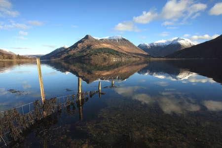 pap: Pap of Glencoe reflected in Loch Leven