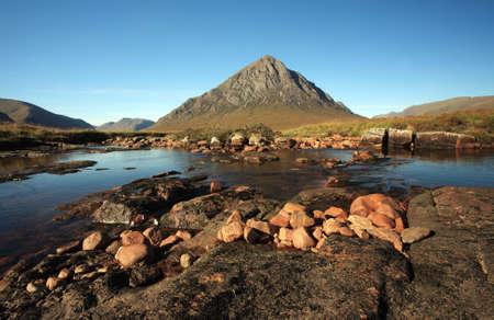 glencoe: Buachaille Etive Mor in Glencoe   Stock Photo