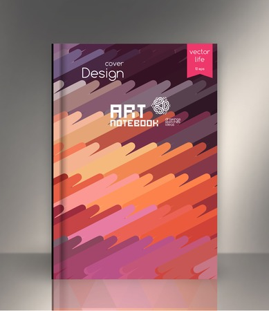backdrop design: The effect of bright light. Cover for the companys environmental, energy, and environmental organizations. Vivid Parallel lines forming picturesque texture. Illustration