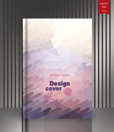 wallpaper design: The effect of bright light. Cover for the companys environmental, energy, and environmental organizations. Vivid Parallel lines forming picturesque texture. Illustration