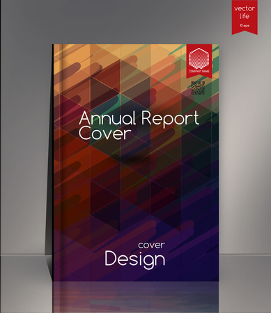 picturesque: Cover design. Creative cover. The effect of bright light. Cover for the companys environmental, energy, and environmental organizations. Vivid Parallel lines forming picturesque texture. Annual report cover. Illustration