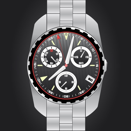 analog: Analog watch