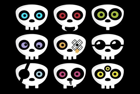 Skulls Ilustração