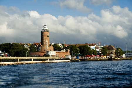 Lighthouse in Kolobrzeg