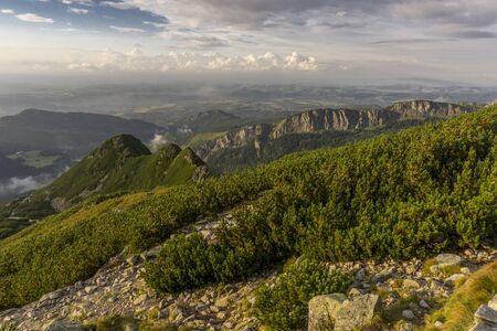 A beautiful view of the Western Tatra Mountains.