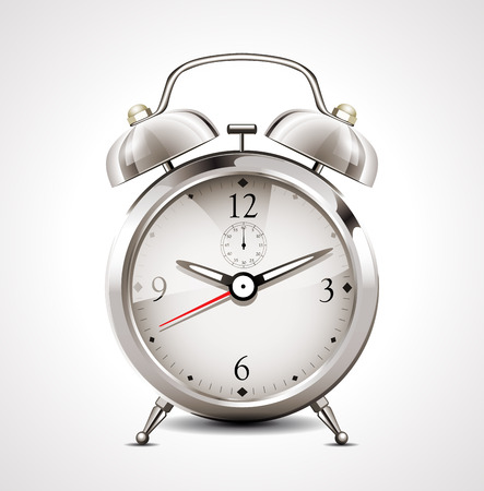 twenty second: alarm clock
