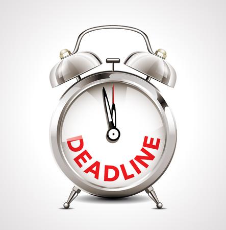 reminders: Alarm clock - deadline