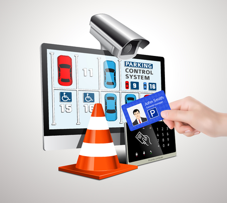 drive ticket: Parking access control