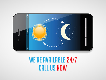 all: All day and all night service available