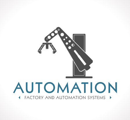 robot arm: Logo - Factory Automation systems