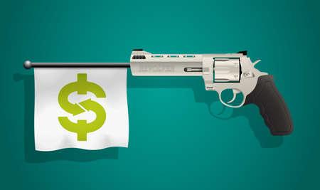 revolver: Revolver - business Illustration