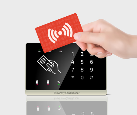 the reader: Access control - Proximity card reader