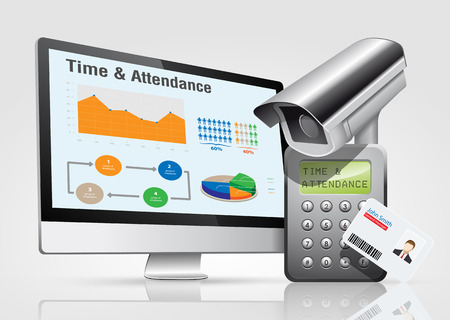 guard house: Access control system - time attendance