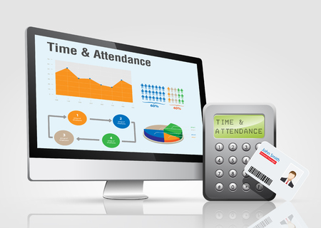 Access control system - time attendance