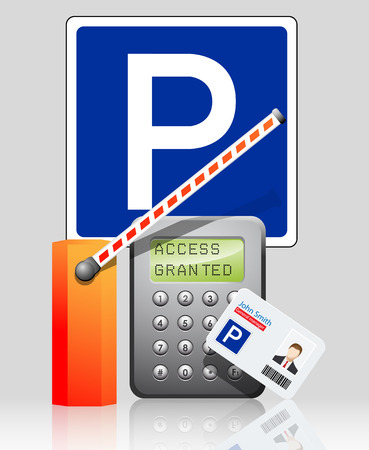 access control: Access control parking system