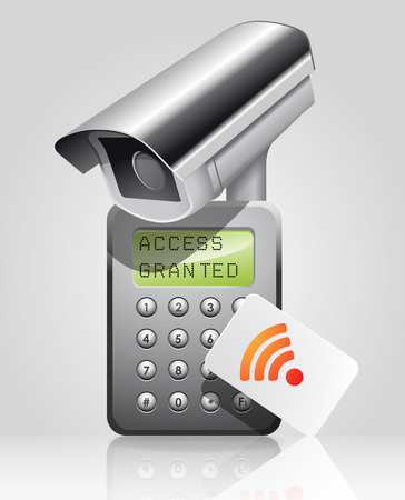 access control: Access control system - time attendance